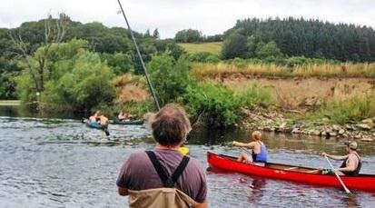 Anglers and canoeists