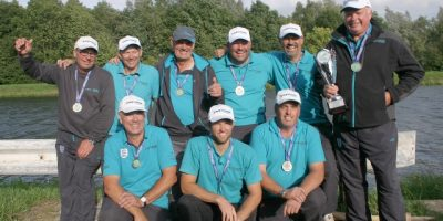 Silver medal for England's match anglers in Belgium