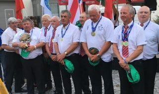 England Veterans Angling Team 2018