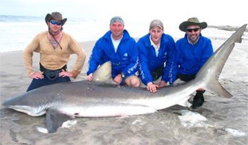 mola mola beach shark fishing namibia