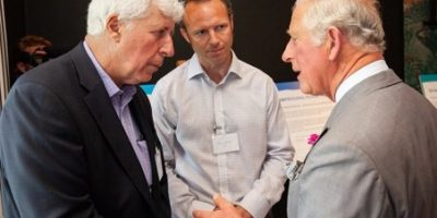 Martin Salter with the Prince of Wales