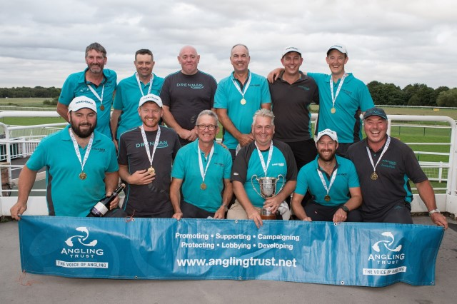 Division One National match fishing champions 2016 Barnsley and District AA