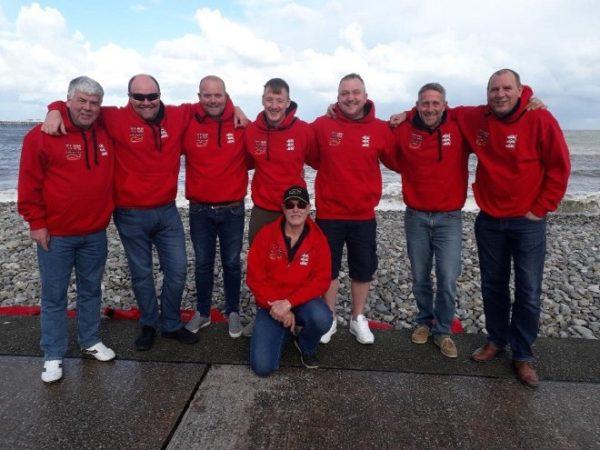 England Mens Shore Fishing Team 2018