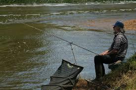 relaxing fishing