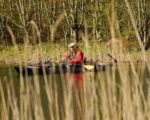 With no motor kayak anglers can drift quickly into lagoons without disturbing wary fish.