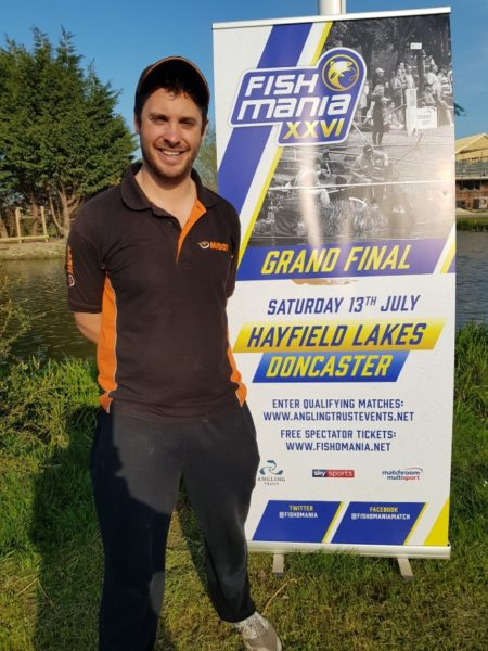 Lee Thornton match angler