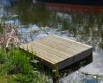 new fishing platforms Erewash Canal