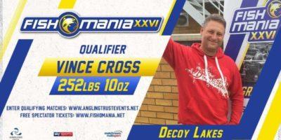 Vince Cross match angler