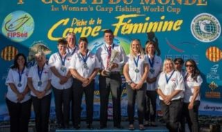 Bronze for England's lady carp anglers