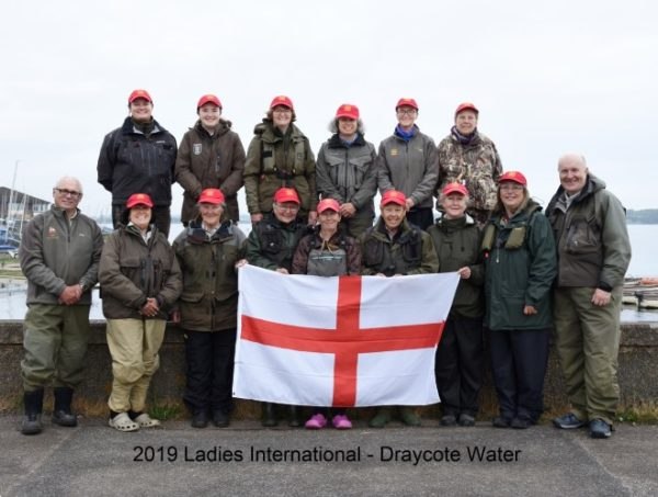 England win gold at ladies fly fishing international at Draycote Water