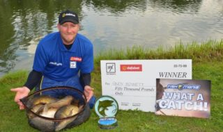 Andy Bennet Fish O Mania Champion 2019