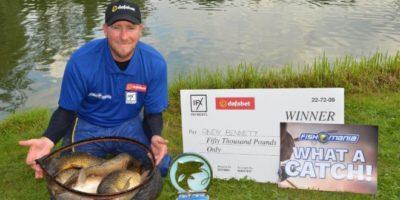 Andy Bennet Fish O Mania Champion 2019
