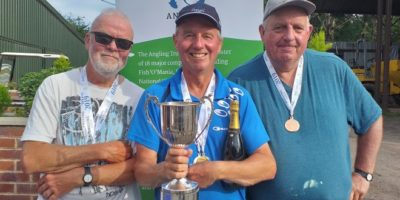 Harry Billing Veterans match fishing champion 2019