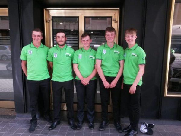England Under 20s match fishing squad 2019