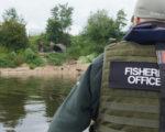 Fishing licence check