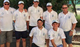 Team England Under 25s match fishing squad 2019