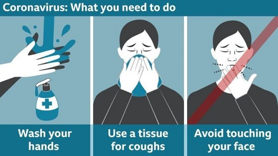 coronavirus advice from the Angling Trust