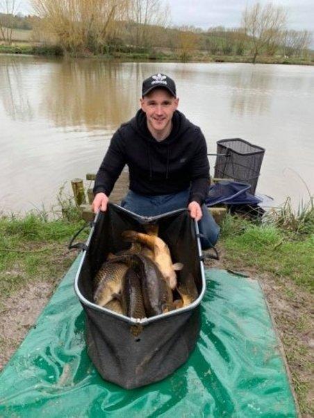 John Hannam match angler