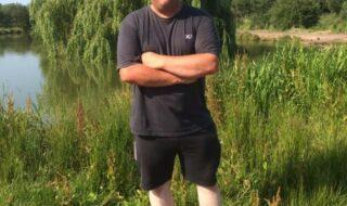 Jamie Hughes match angler