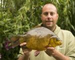 Craid Smithson 4lb 11oz crucian carp British Record claim