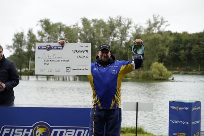 Fish O Mania Champion 2020 Andy Bennett