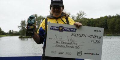 Sarah Taylor Fish O Mania NxtGen champion 2020