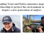 Angling Trust and Daiwa announce major partnership to protect the environment and inspire a new generation of anglers