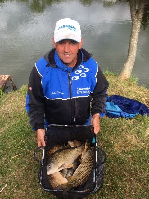 John Vernon match angler